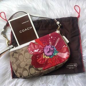 Coach Limited Edition Signature Poppy Handbag